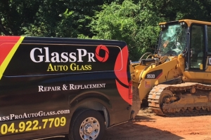Heavy Equipment Windshield Replacement and Repair in Metro Atlanta